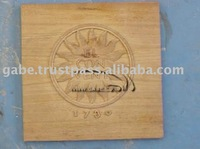 ELCONVENT WOODEN CARVING CHOPPING BLOCK