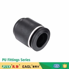 China JULY supplier direct air media PU plastic quick connect pneumatic fittingspneumatic fittings