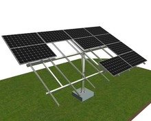 pv support structure, photovoltaic panel kit