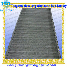high quality chain link aluminum refining furnace belt