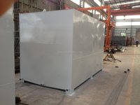 Stainless square storage water tank
