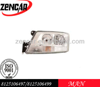 MAN HEAD LAMP TGX/TGS 8125106497/8125106499 (E) LH