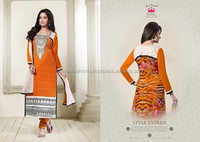 Designer net Malika Dress Material