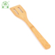 High quality eco-friendly bamboo cooking slotted spatula for kitchen