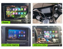 Memory MIC bluetooth screen touch portable dvd player for car