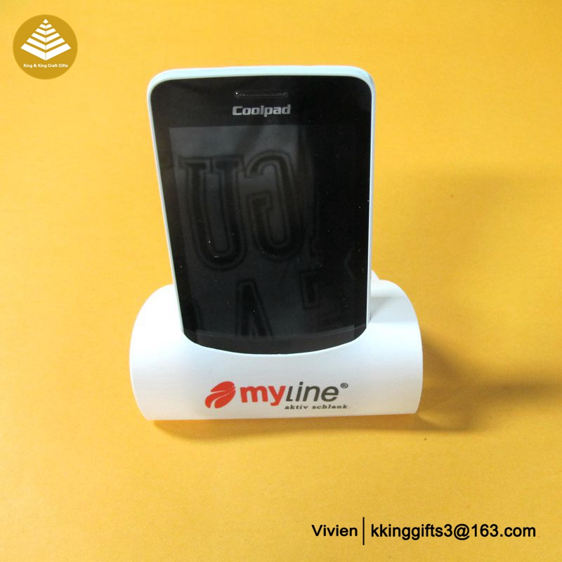 Nice looking customized funny hand cell mobile phone security holder for desk