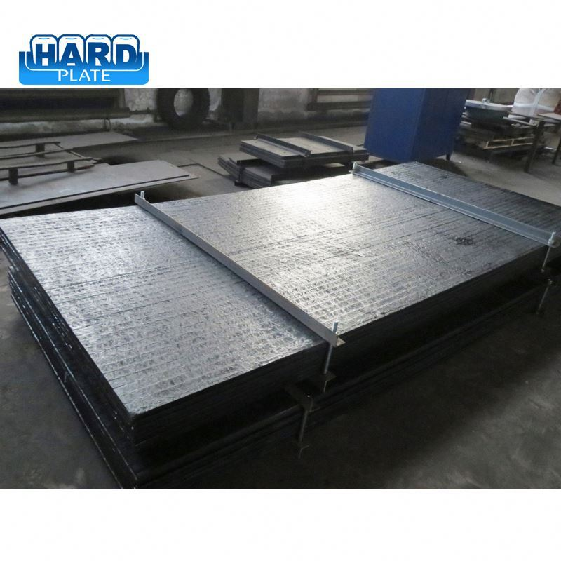 2017 new product design truck bed liners abrasion steel used for cement or coal industry