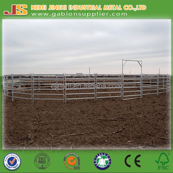 Livestock Metal Fence Panels for raising, Horse Fence Panels