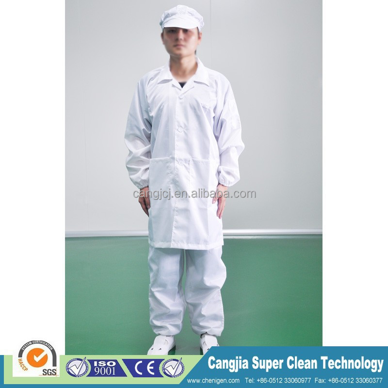 Anti-static smock, anti-static clothing ESD long gown
