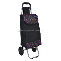 YY-29X40 shopping trolley cover folding wire shopping cart wheels
