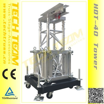 Oudoor Stage Truss Lifting Roof Truss Tower System