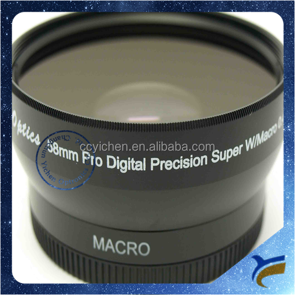Wholesale 52mm 0.45X Super Wide Angle Macro Conversion Lens for DSLR cameras for Sony Canon Nikon Olympus Panasonic Pentax