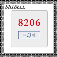 SHIBELL OEM hotel room number doorplate electronic doorbell system
