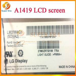 "Replacement LCD screen for iMac A1419 27"" inch lcd led display with glass 2014 year (SUPER ERA)"