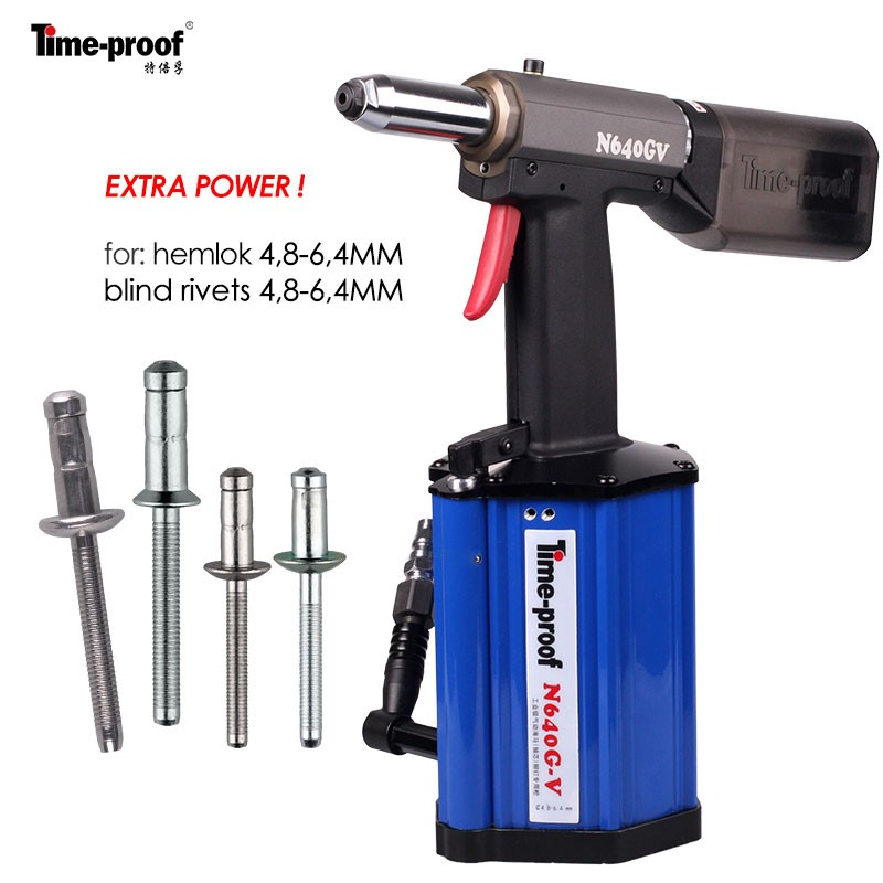N640GV Pneumatic Hydraulic Riveting Tool / Rivet Gun / Air Riveter with vacuum system
