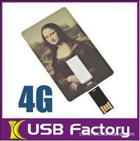 credit card usb flash memory
