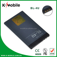 High Quality Original Rechargeable Original Mobile Phone BL-4U Battery for Nokia with High Capacity