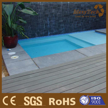 wpc flooring planks- swimming pool applications,hotels landscape designs
