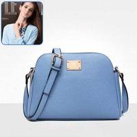 Bz1345 mature women style shoulder bag 3 zippers lady bags wholesale price