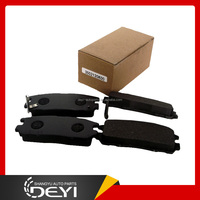 Chinese Auto Car Spare Parts Brake Pad for Great Wall Hover Hover H3 Hover H5 Pegasus Safe 3502120K00