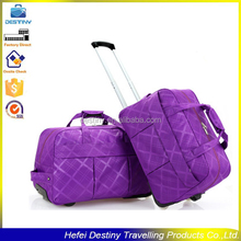 fashional waterproof leisure ladies travel carry on trolley bags