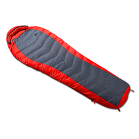 Thickness Portable Mummy Sleeping Bag Duck Down Filled Sleep Bag