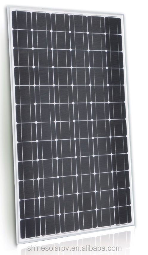 2017 Shine cheap price 200W Mono solar panel with high effiency