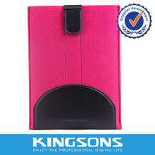HOT sale Snug Tailored Wool Felt Tablet Case For Ipad