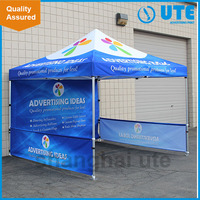 Outdoor trade show advertise fold tent canopy