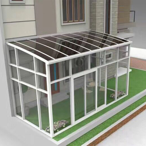 Wholesale Low Price Polycarbonate Aluminum Sunroom for Building