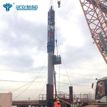 Powerful Foundation Sheet Piling Machines YC-40 Hydraulic Impact Hammers for sale
