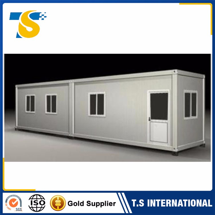 2017 luxury cheap Heat preservation knock down panel prefab house