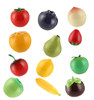 10g 30g Plastic Fruit plastic hand Cream Jar cosmetic packing