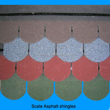 asphalt roofing shingles fish scale standard tiles