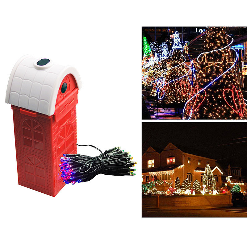 Mg-air fuel cell powered led plastic decoration string lamp outdoor