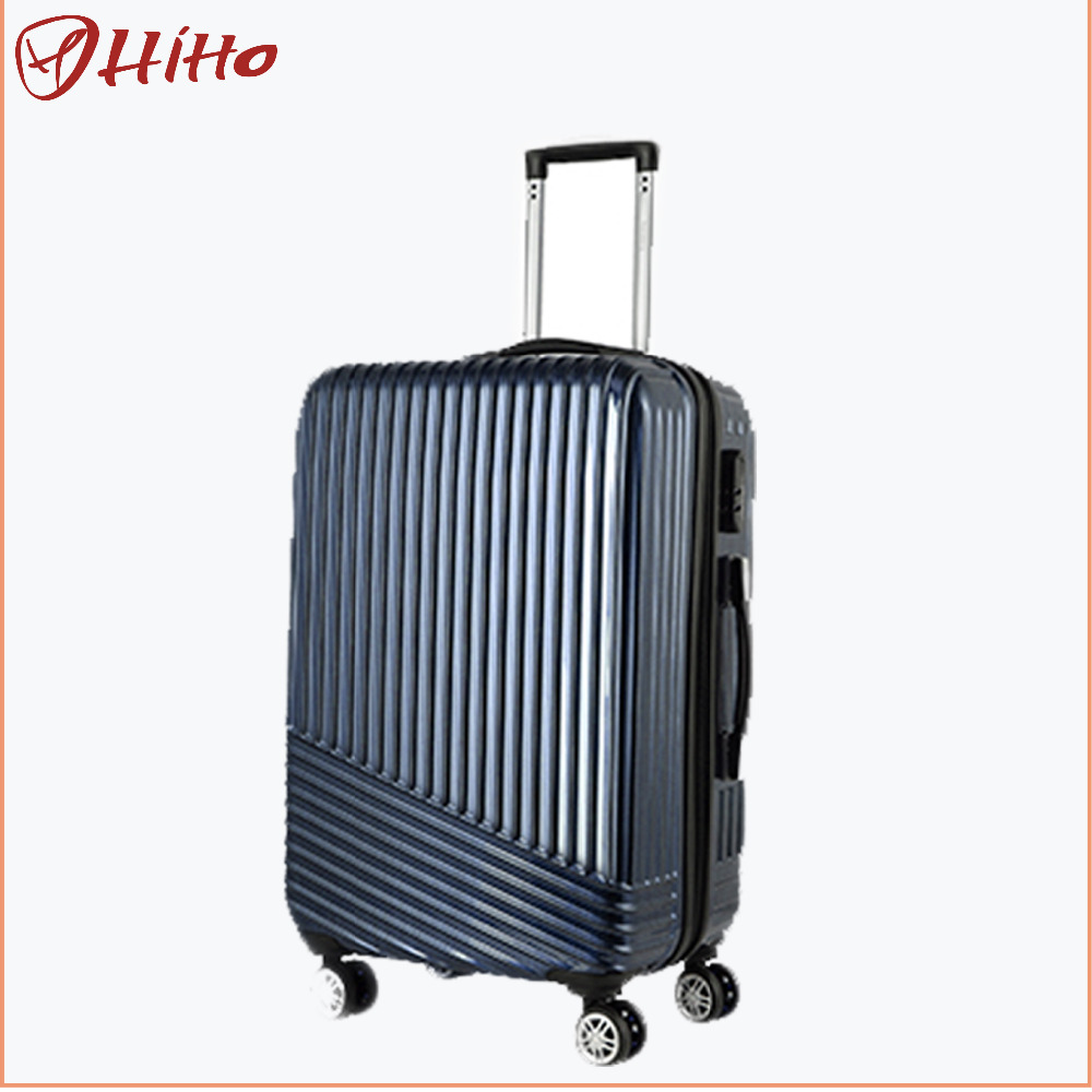 Christmas Promotional Abs Pc Hard Case Luggage For Travel