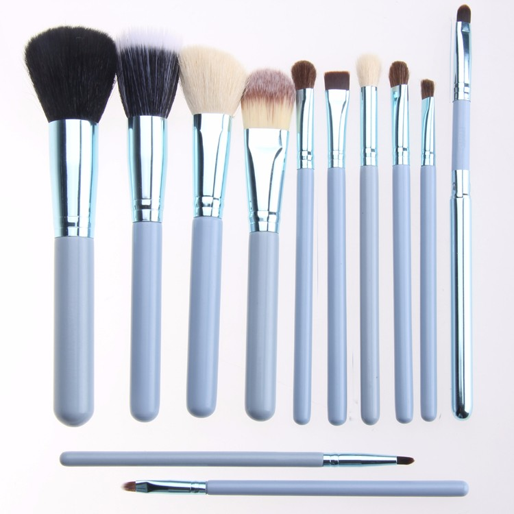 Manufacturer Private Label 12PCS Face Travel professional makeup brush