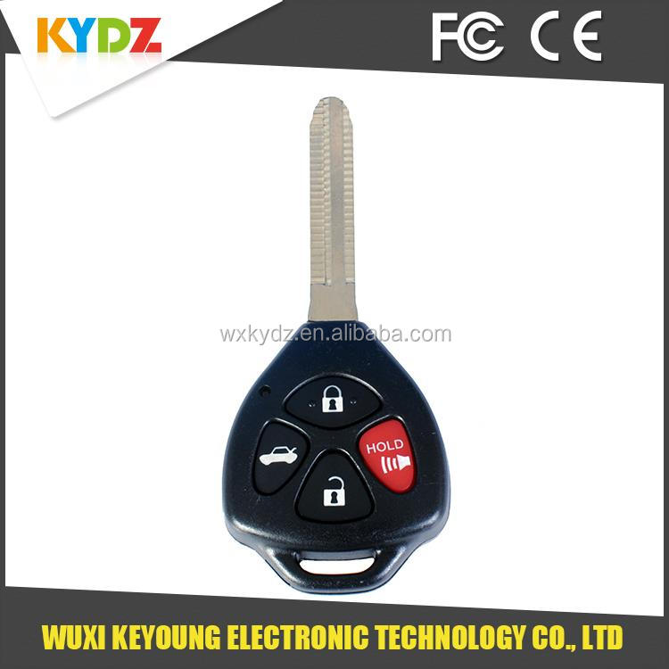 2008-2013 GQ4-29T G Chip 4 button Factory Sale need car <strong>key</strong> made for Toyota /Corolla