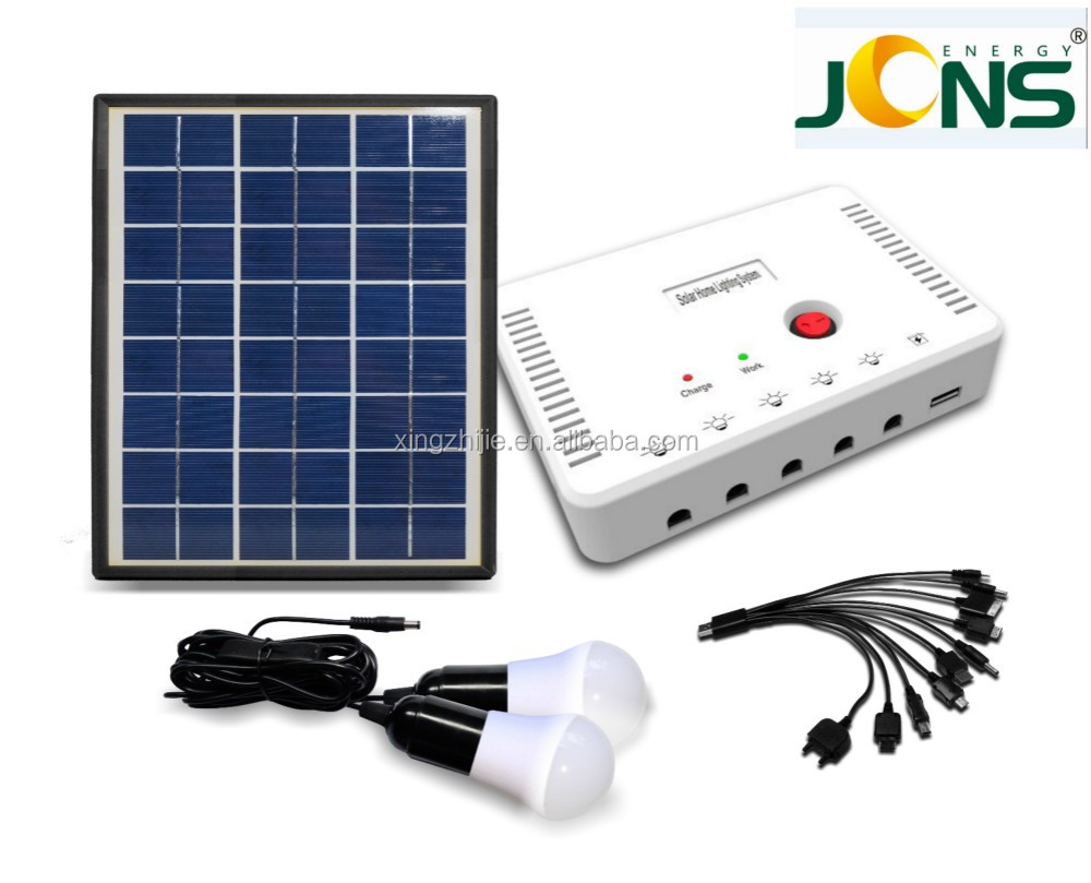 newest mini solar power led lighting system, small solar generator for home and outdoor, manufacturer in China