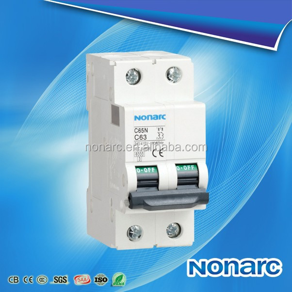 C65 High Quality CE Approve Circuit Breaker 2P 40A