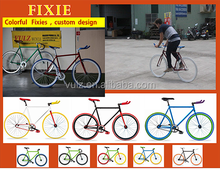 700C fixie oem fixed gear bikes colorful fixie custom design single speed bike taiwan manufacturer