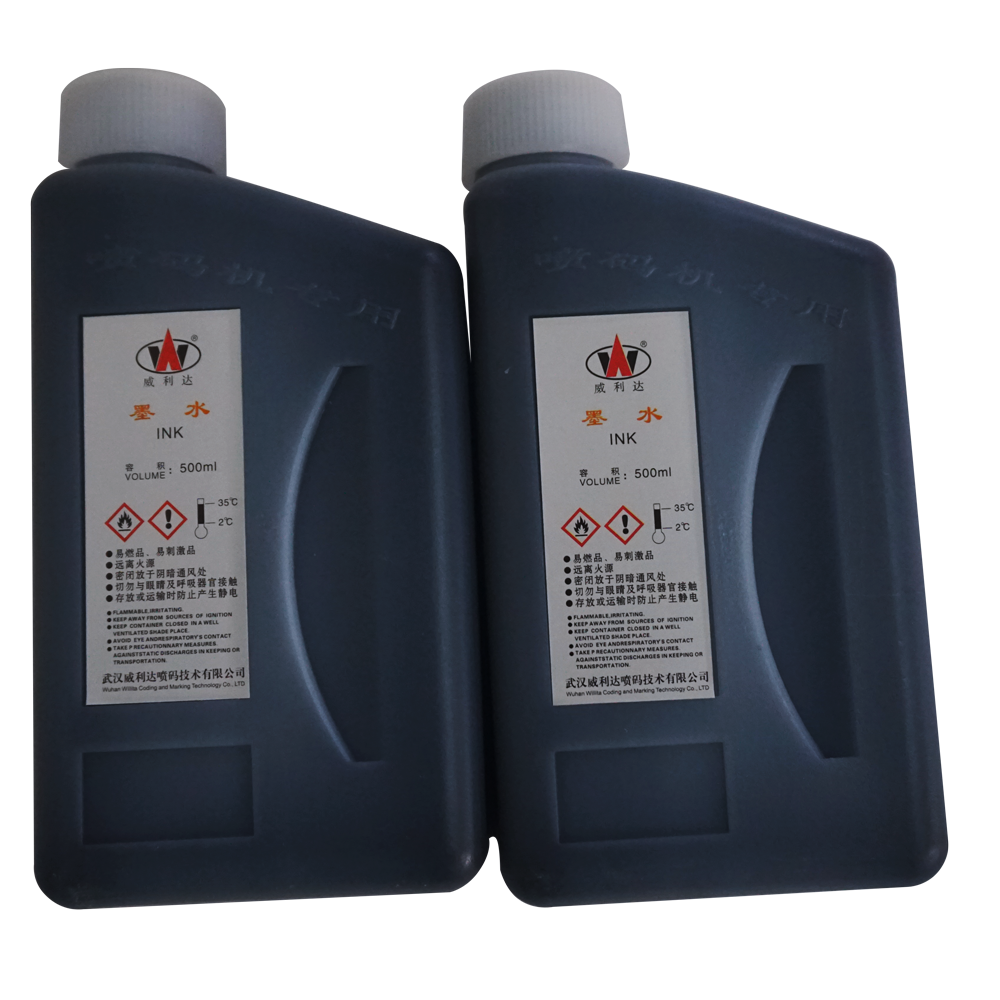 Industrial Marking Solution Waterproof Inkjet Printer Ink