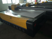 LR 2513 uv led flatbed digital glass printer / large format metal printing machine price