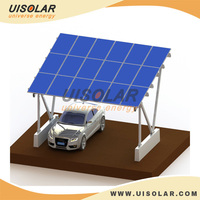 PV Aluminun solar panel carport support bracket