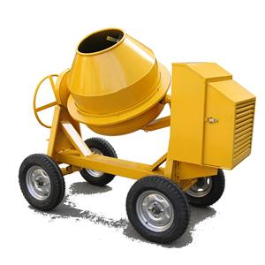 Portable Concrete Mixer Machine Mini Small Diesel Gasoline Mobile Concrete Mixer