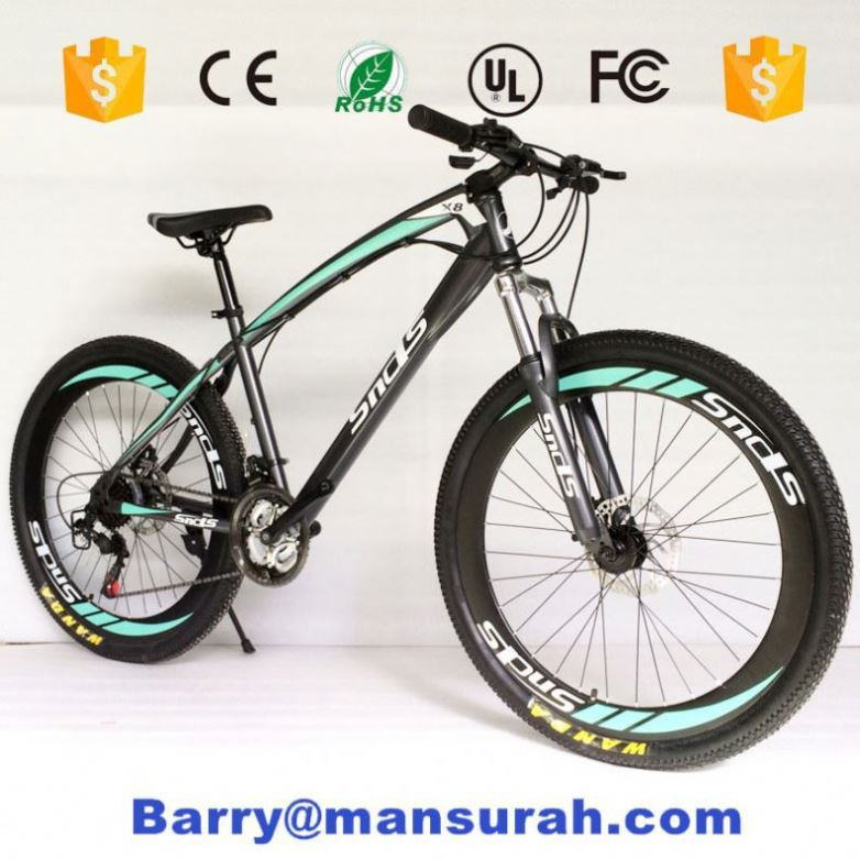 mountain bike hot sale on alibaba / single speed mountain bike prices/ steel cheap 21 speed mountain bicycle