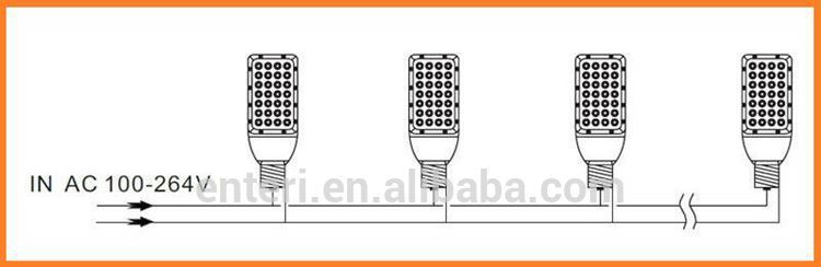 30w LED street light for outdoor using