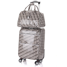 travel Luggage 2PC Set Tribal Ethnic Print Suitcases