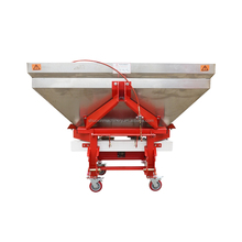 1200Kg Mounted S.S. Agricultural Broadcast Spreaders In Double Disks