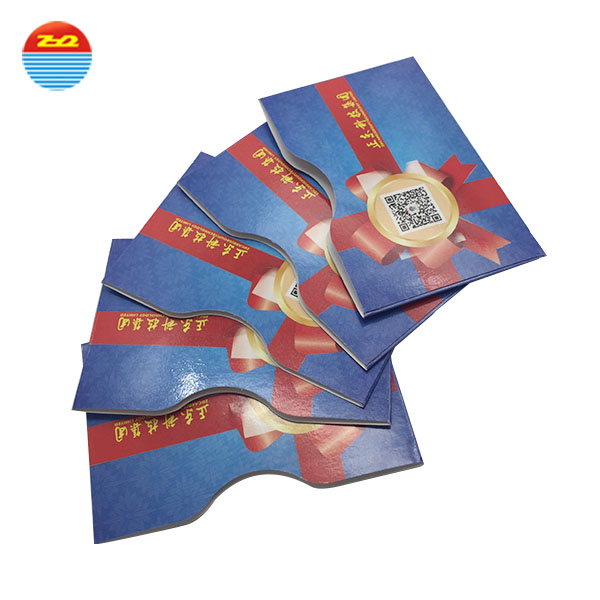 Customized printing LF HF UHF RFID blocking sleeves for credit card and passport